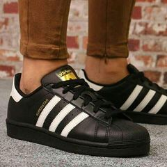 adidas superstar negra